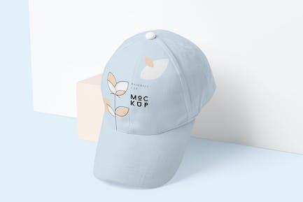 5 Baseball Cap Mockups - V1