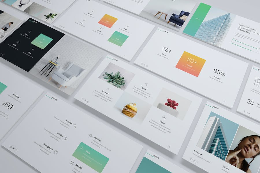 Selected - Minimal & Business Template (PPT)