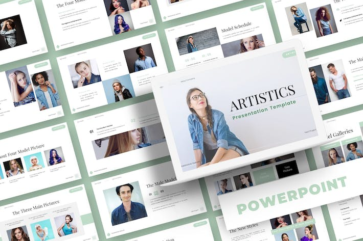 Thumbnail for Artistics - Powerpoint Template