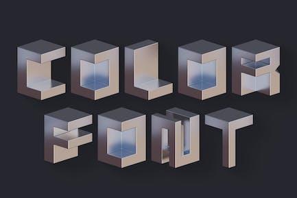 Squares - Color SVG Font