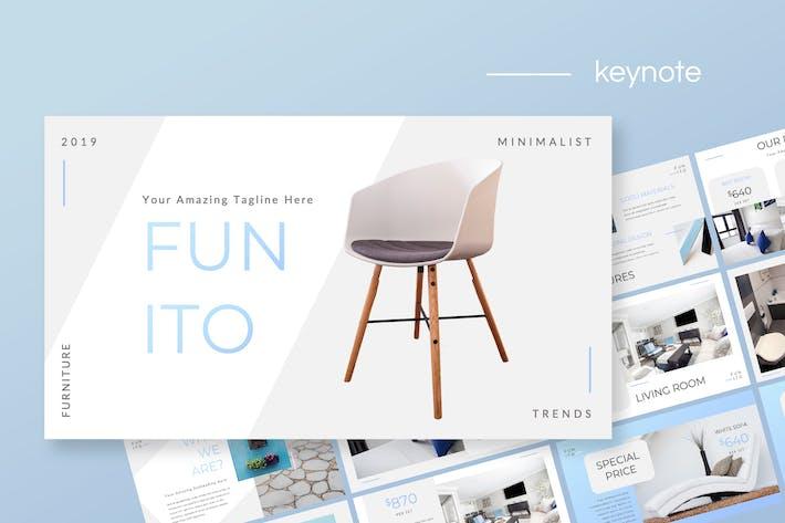Thumbnail for Funito - Furniture Keynote Presentation
