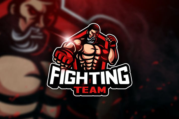 Thumbnail for Fighting Team - Mascot & Esport Logo