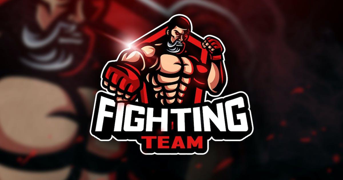 Download Fighting Team - Mascot & Esport Logo by aqrstudio