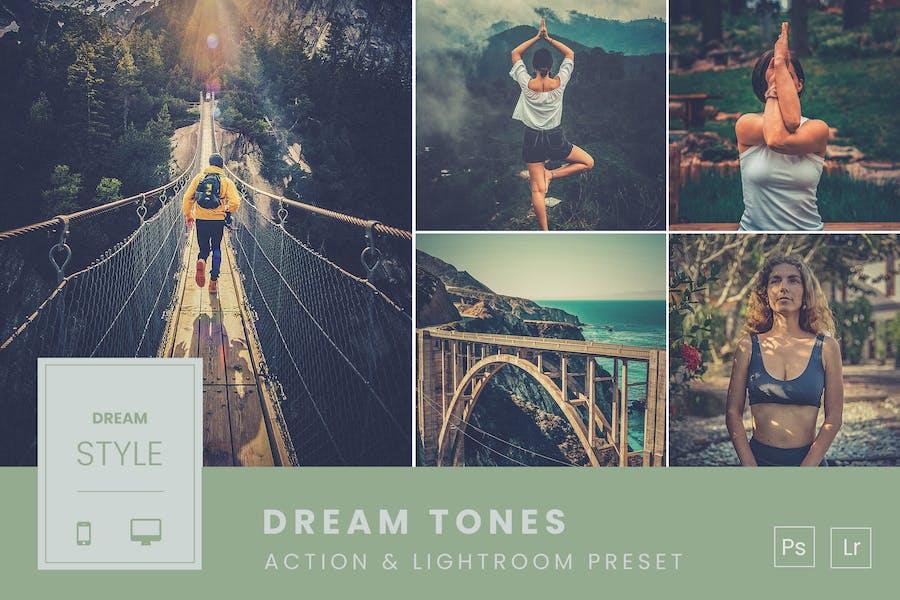 Dream Tones Action & Lightroom Preset