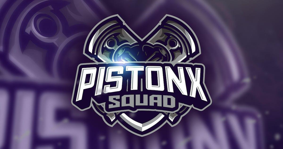 Download Piston Squad - Mascot & Esport Logo by aqrstudio