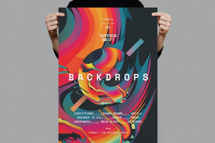 Cover Image For Backdrops Poster /  Flyer