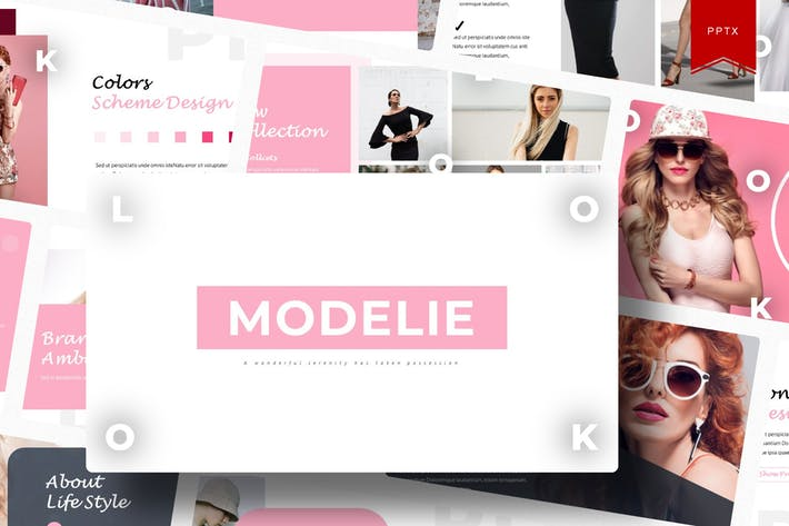 Modelie | Powerpoint Template