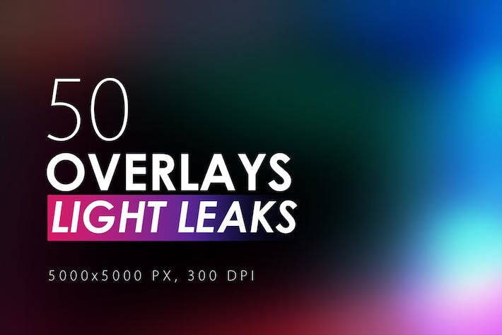 Thumbnail for 50 Light Leak Overlays