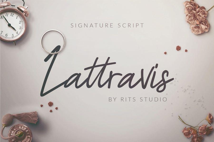 Lattravis Signature Script