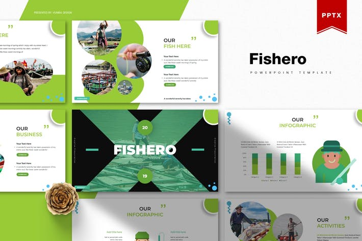 Thumbnail for Fishero | Powerpoint Template