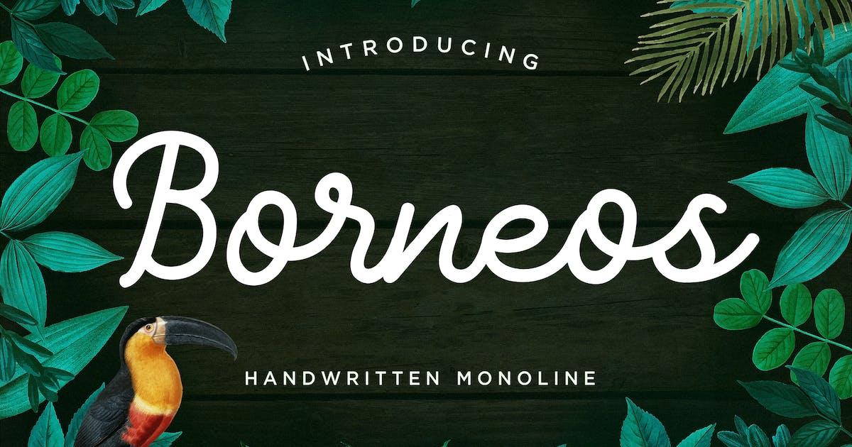 Download Borneos - Monoline Handwriting by naulicrea