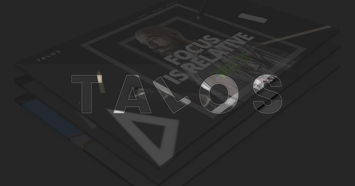 Download Talos - Creative Multipurpose HTML Template by IG_design