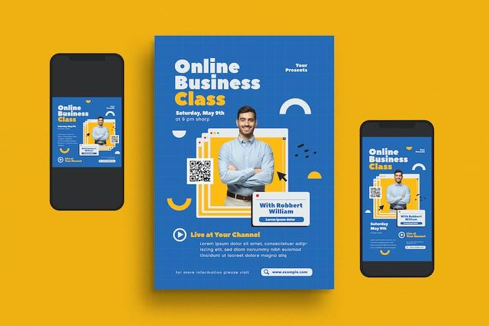 Thumbnail for Online Business Class Flyer