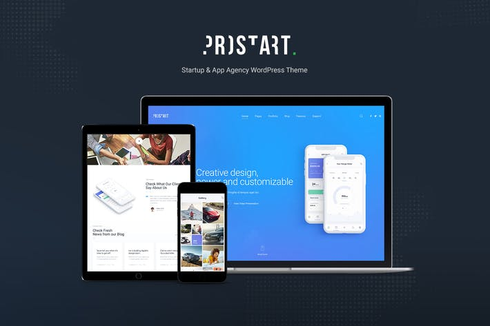 Thumbnail for Prostart - Startup & Corporate WordPress Theme