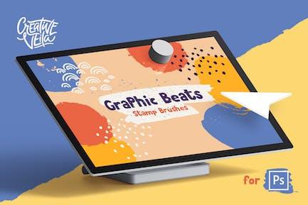 Graphic Beats: Photoshop Brushes