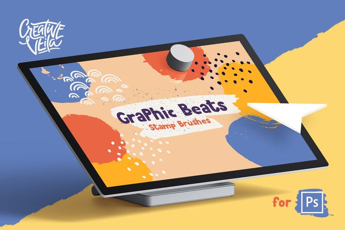 Cover Image For Graphic Beats: Photoshop Brushes