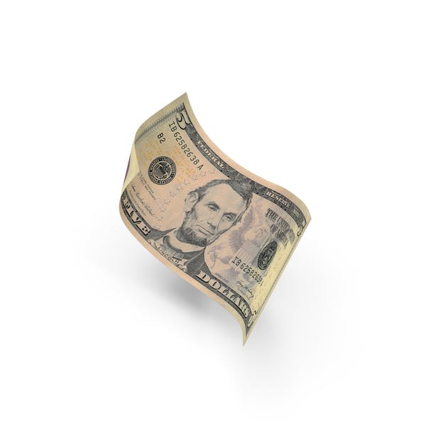 US 5 Dollar Bill