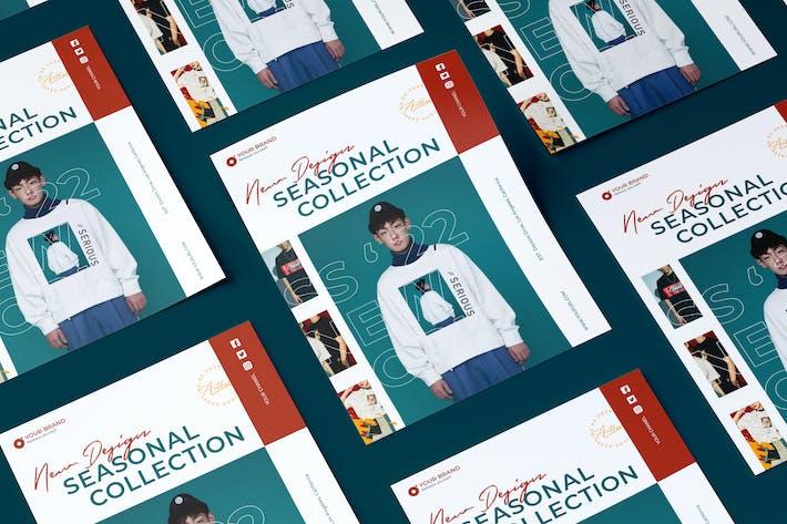Thumbnail for Creative Fashion Sale Flyer