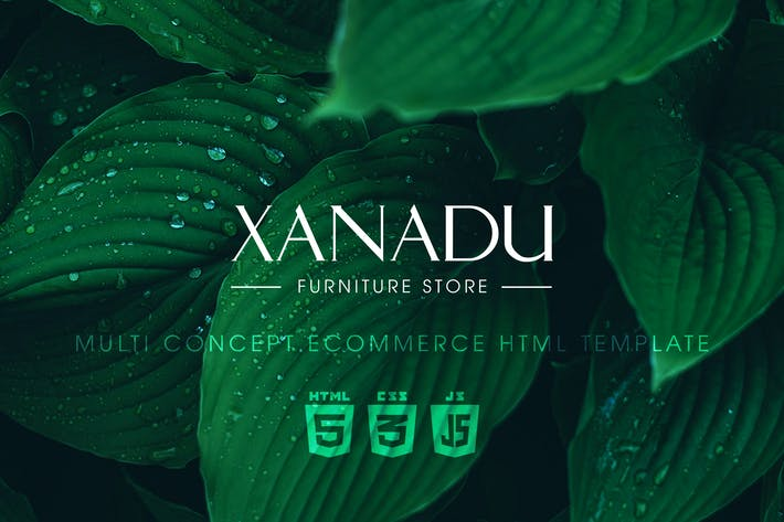 Thumbnail for Xanadu | Multi Concept eCommerce HTML Template