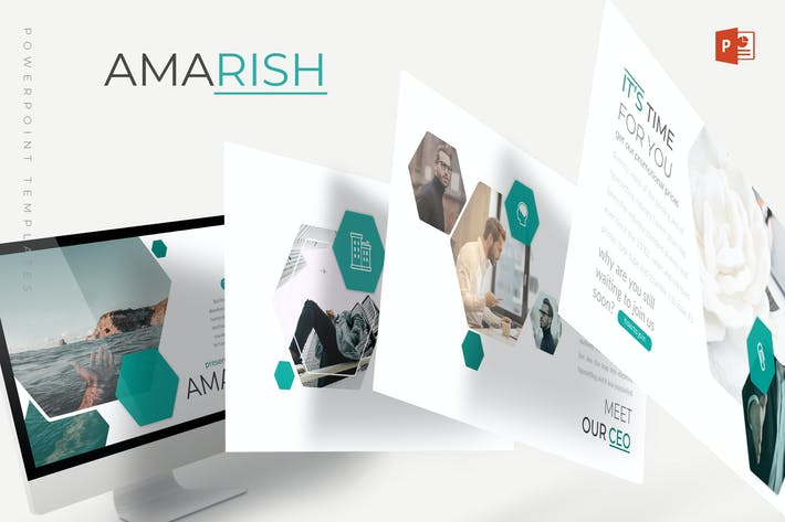 Thumbnail for Amarish - Powerpoint Template