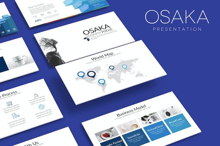 Thumbnail for OSAKA Powerpoint Template