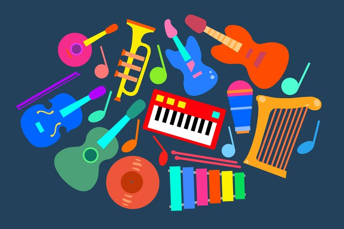 Thumbnail for Music Instruments Clipart