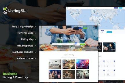 Listingstar - Directory & Listings HTML Template