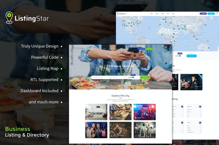 Thumbnail for Listingstar - Directory & Listings HTML Template