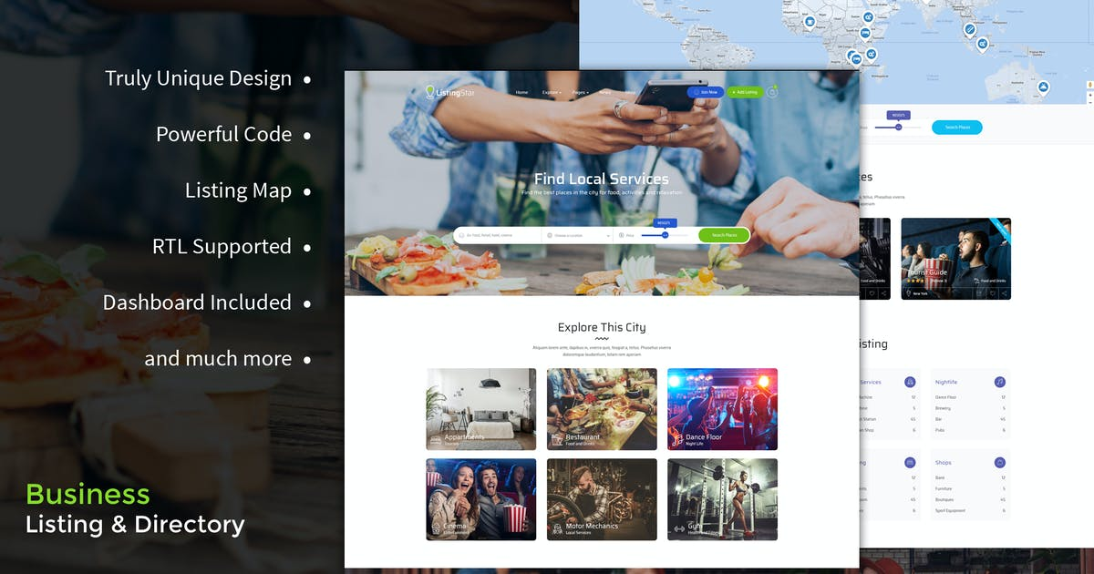 Download Listingstar - Directory & Listings HTML Template by BrighThemes