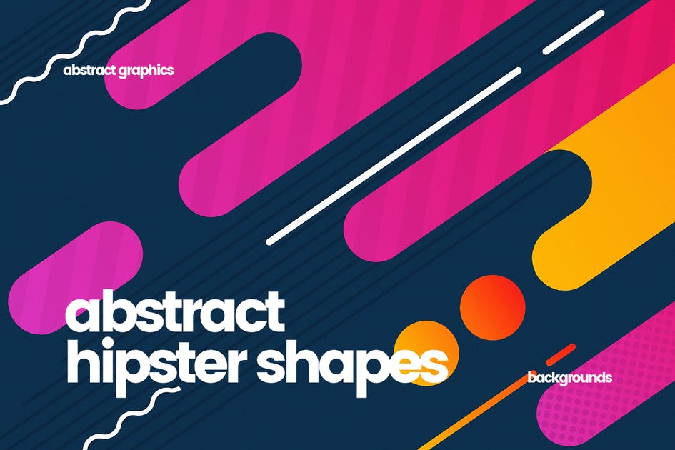 Download Hipster Shapes Backgrounds by themefire