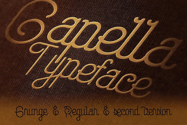 Thumbnail for Capella Typeface