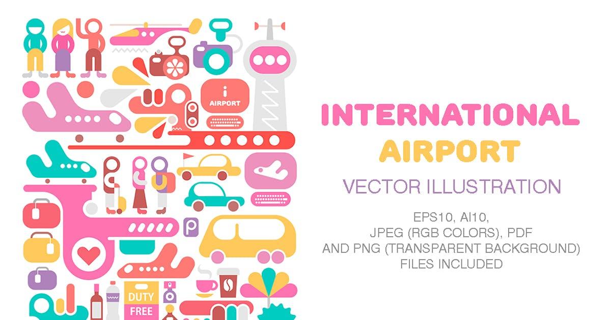 Download International Airport by danjazzia