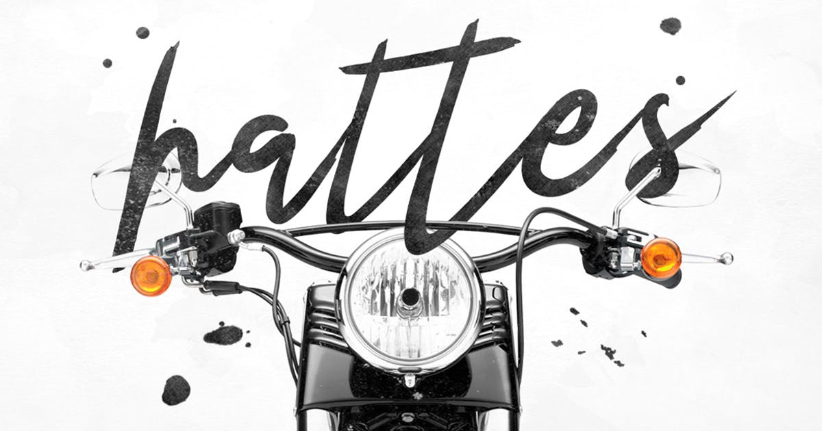 Hattes Typeface by maulanacreative