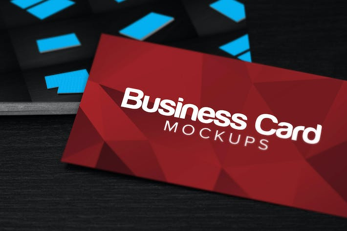 Thumbnail for 10 Business Card Mockups