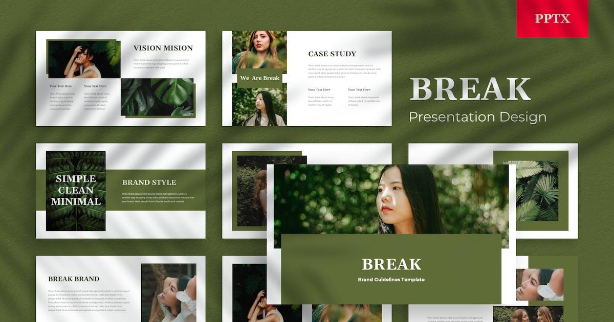 Download Break - Powerpoint Presentation Template by usedesignspace