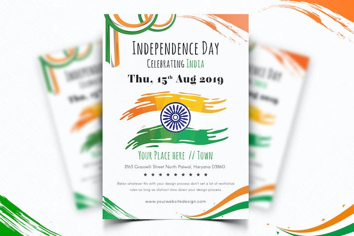 Thumbnail for Indian Independence Day Flyer-06