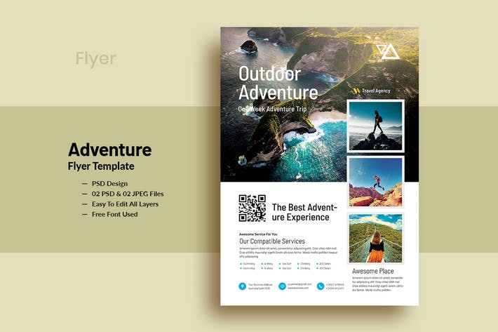 Thumbnail for OutDoor Adventure Flyer Template