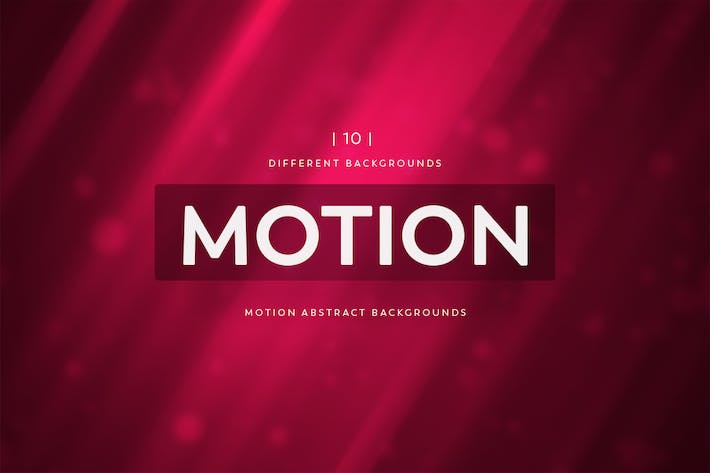 Cover Image For Motion Abstract Backgrounds