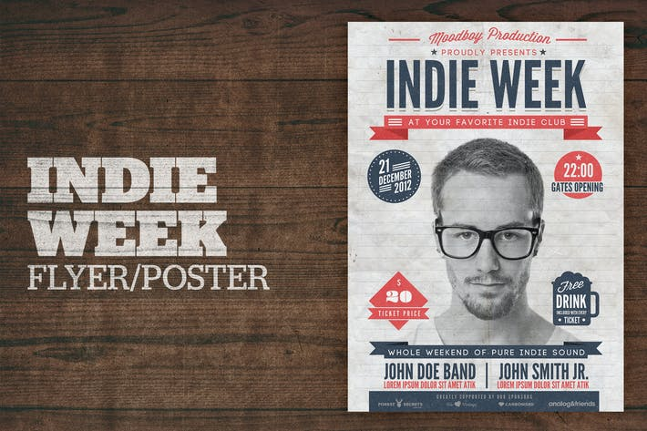 Thumbnail for Indie Week Poster