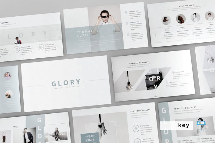 Thumbnail for GLORY - Multipurpose Keynote Template  V83