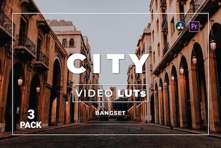 Бангсет Сити Pack 3 Видео LUTs