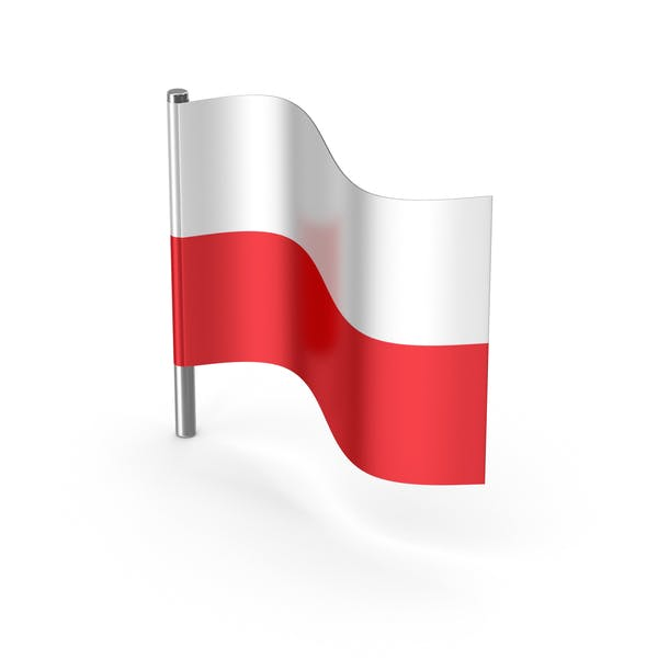 Poland Cartoon Flag