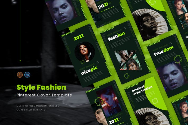 Thumbnail for Style Fashion Pinterest Cover