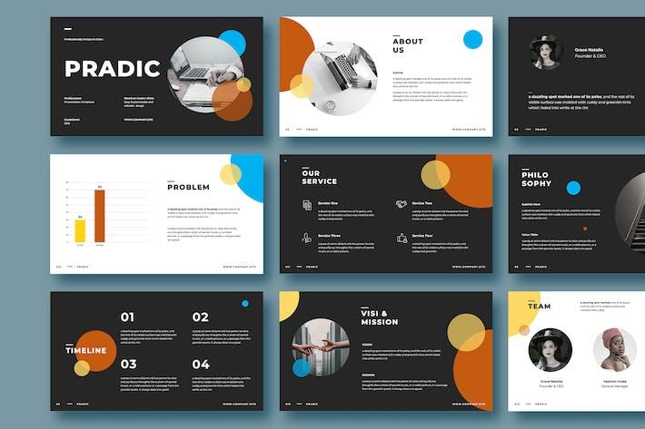 Thumbnail for PRADIC - Шаблон Powerpoint
