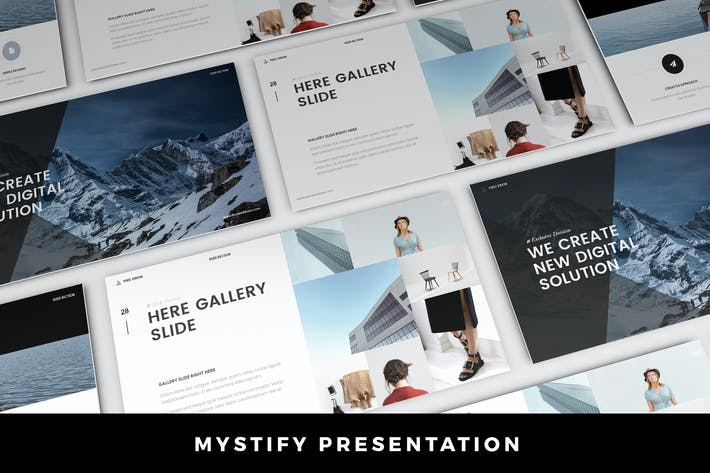 Thumbnail for Mystify Presentation