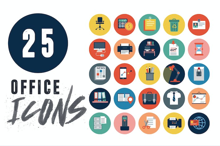 25 Office Icons