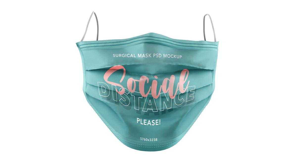 Download Surgeon Mask PSD Mockup by Sinlatown