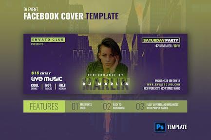 Facebook Cover | DJ Special Party