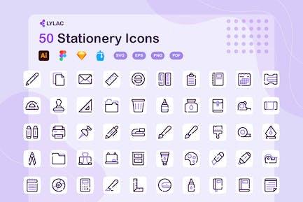 Lylac - Stationery Icons