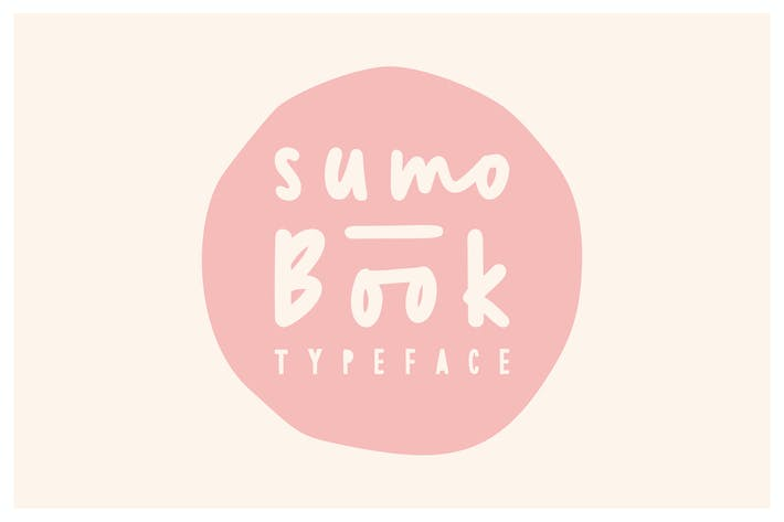 Cover Image For Sumo Book Font